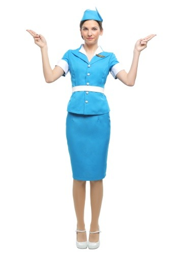 Flight Crew Womens Costume