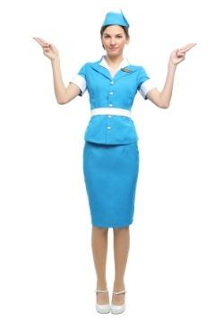 Flight Crew Plus Size Womens Costume
