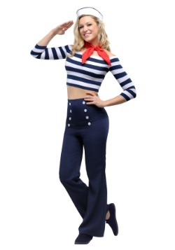 Womens Nautical Beauty Costume