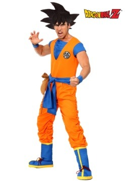 Dragon Ball Z Authentic Goku Men's Costume
