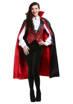 Plus Size Women's Fierce Vamp Costume