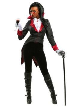 Plus Size Women's Dashing Vampiress