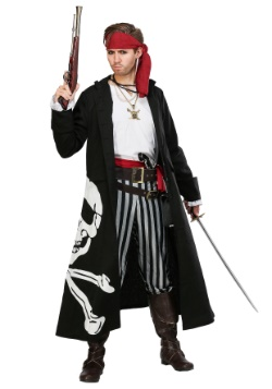 Pirate Flag Captain Mens Costume