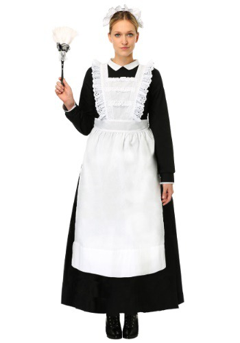 Womens Traditional Maid Costume