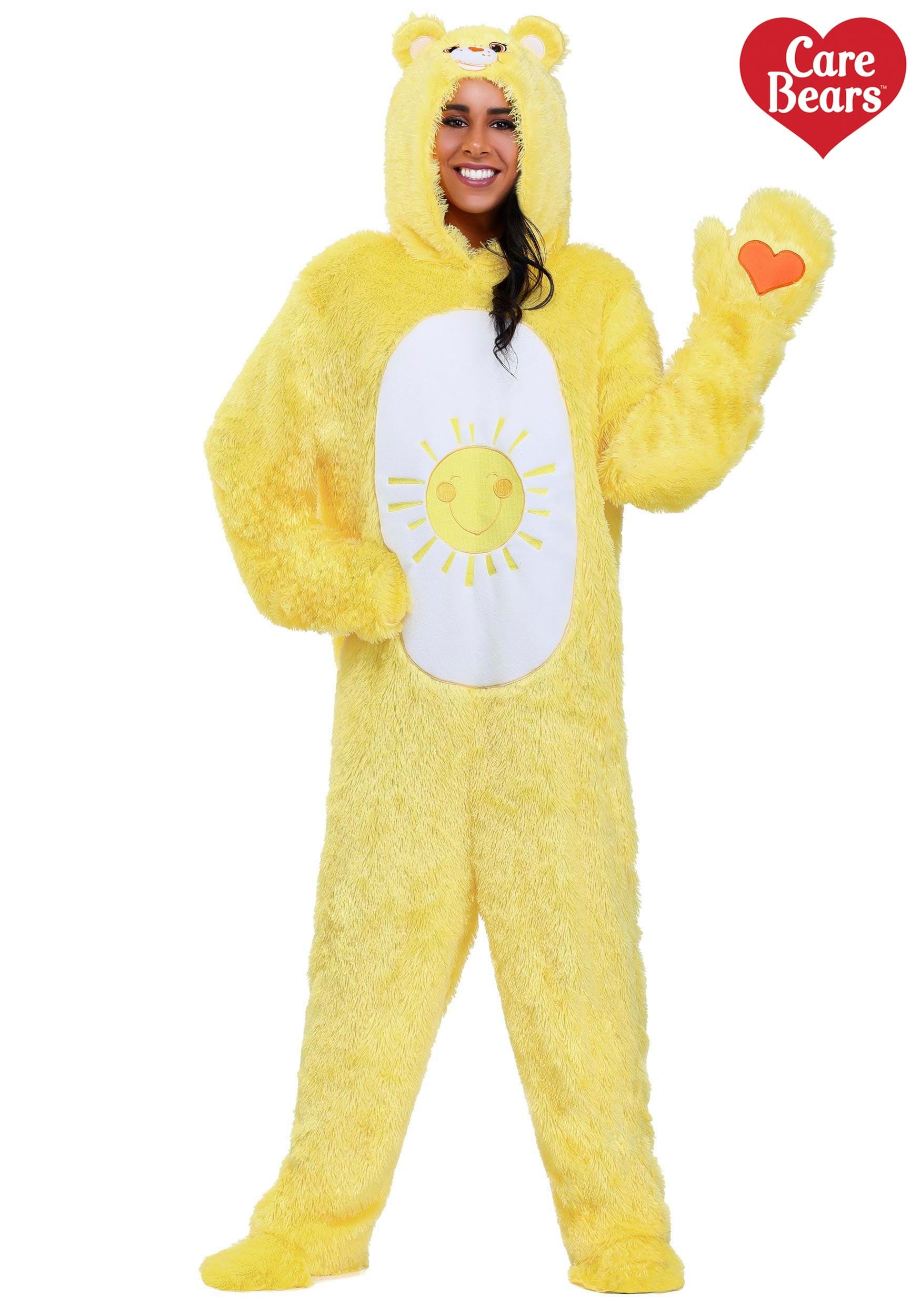 4221ff64a9ba Care Bears Adult Classic Funshine Bear Costume