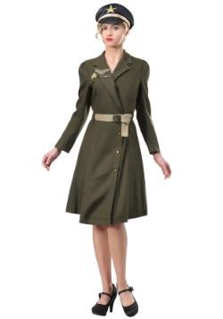 Women's Bombshell Military Captain Costume