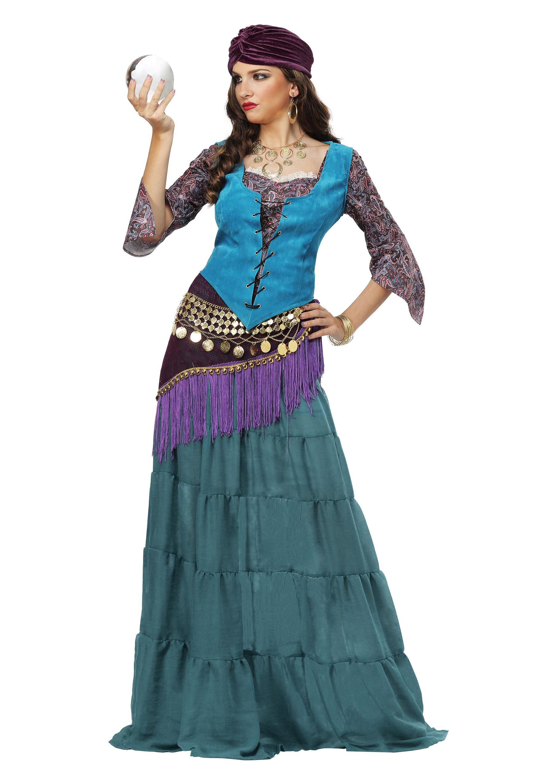 Fabulous Fortune Teller Gypsy Costume For Women