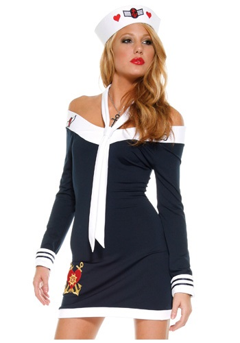 Sexy Sailor Dress