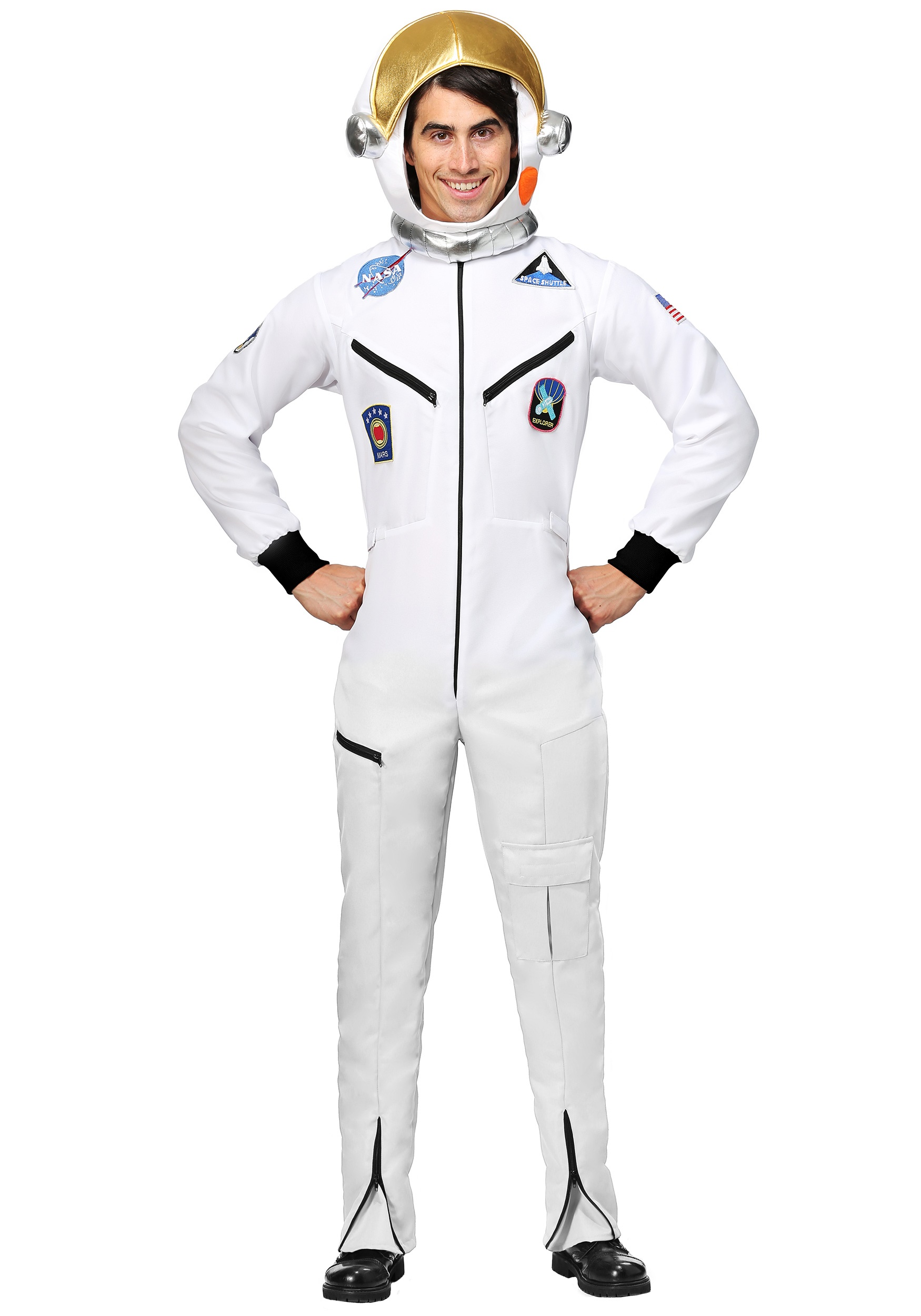 Astronaut Costumes Kids Adult Astronaut Halloween Costume