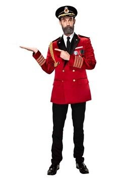 Captain Obvious Men's Costume