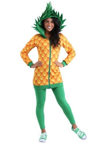 Pineapple Hoodie Dress