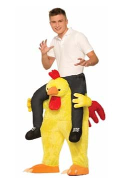 Adult Chicken Fight Ride On Costume