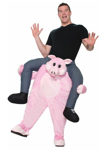Adult Piggy Back Ride On Costume