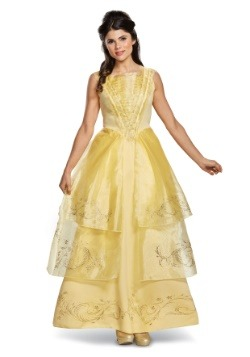 Belle Ball Gown Deluxe Women's Costume
