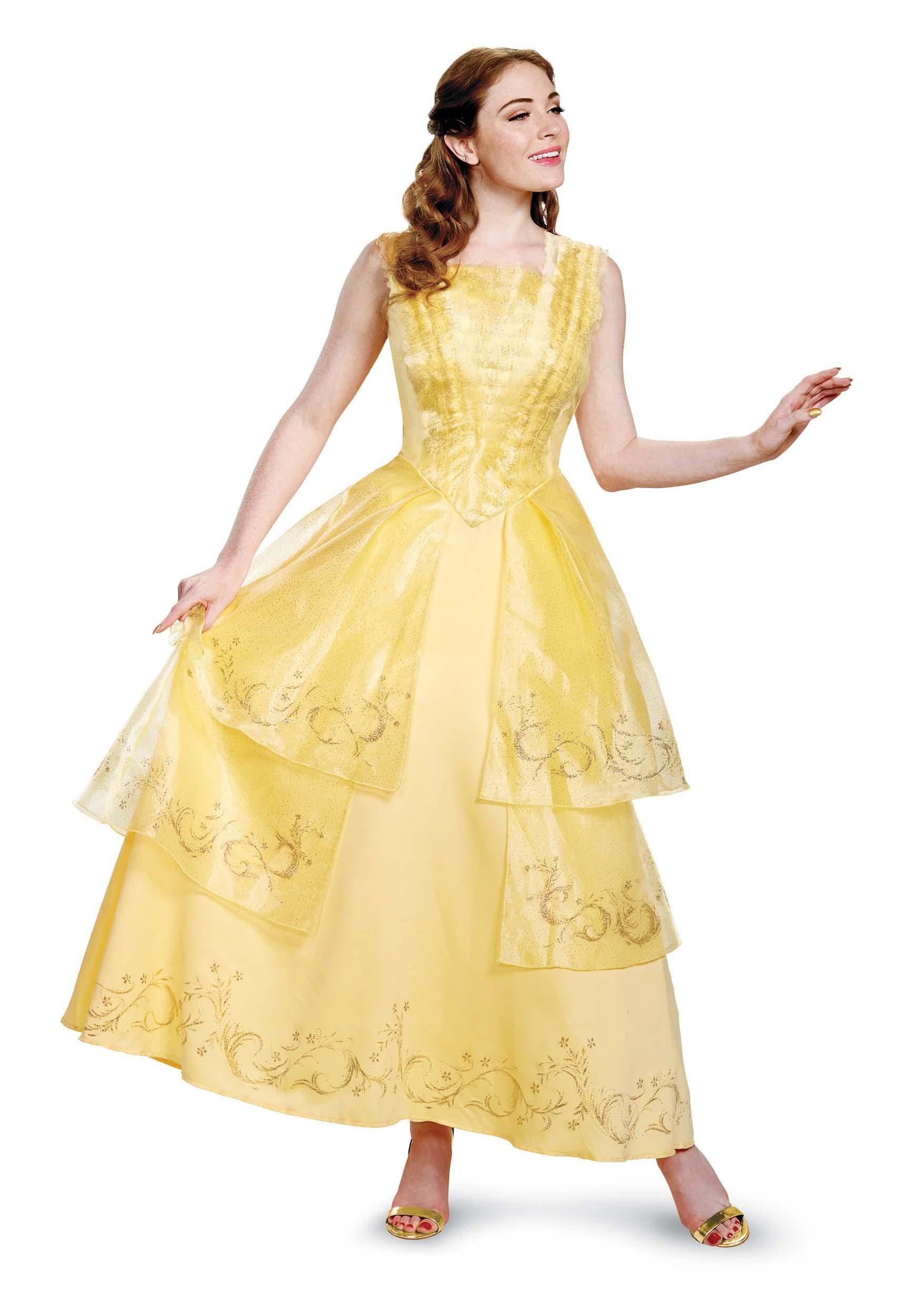 womens belle ball gown prestige costume