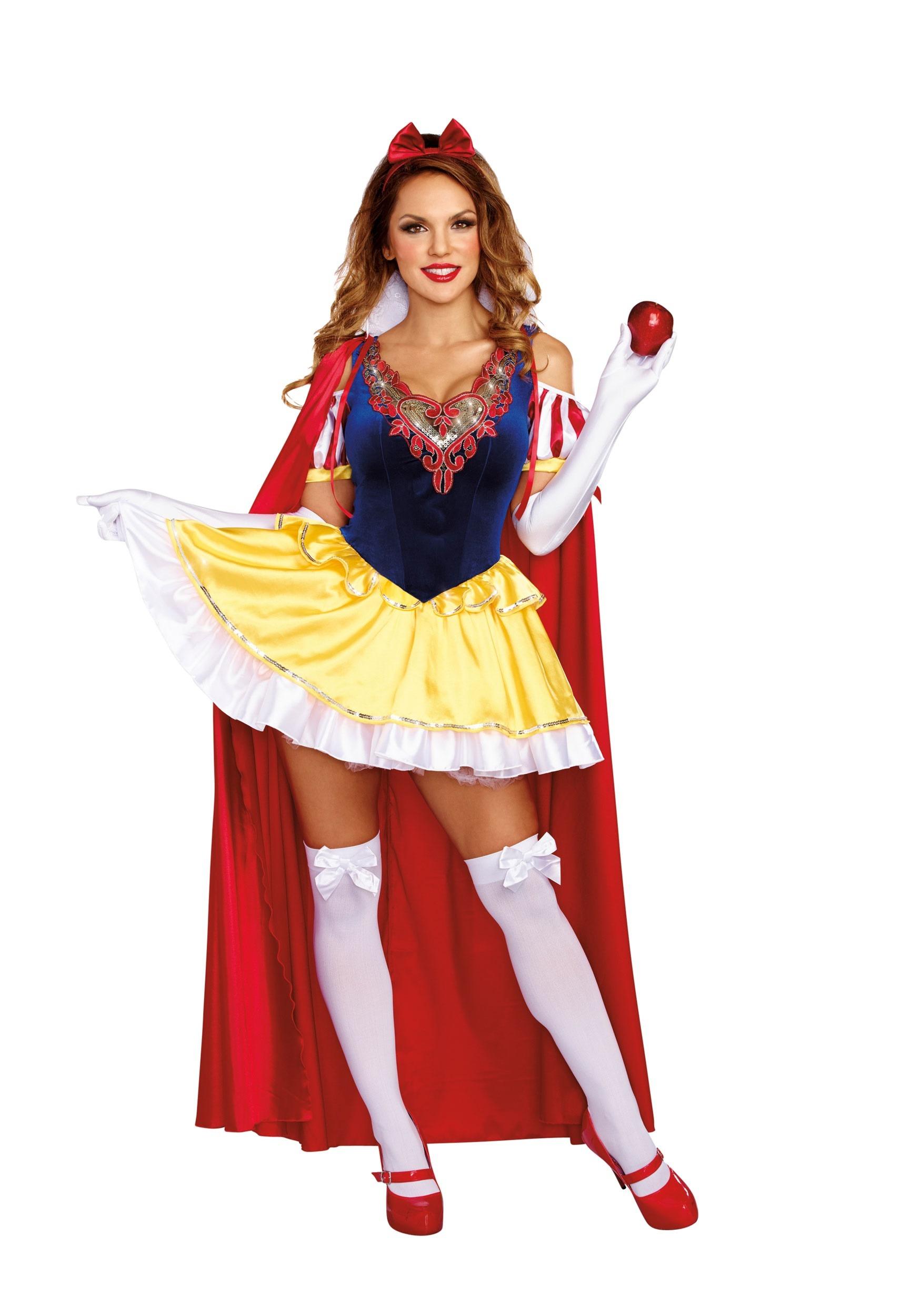 Sexy Snow White Plus Size Costume State Fair Seasons