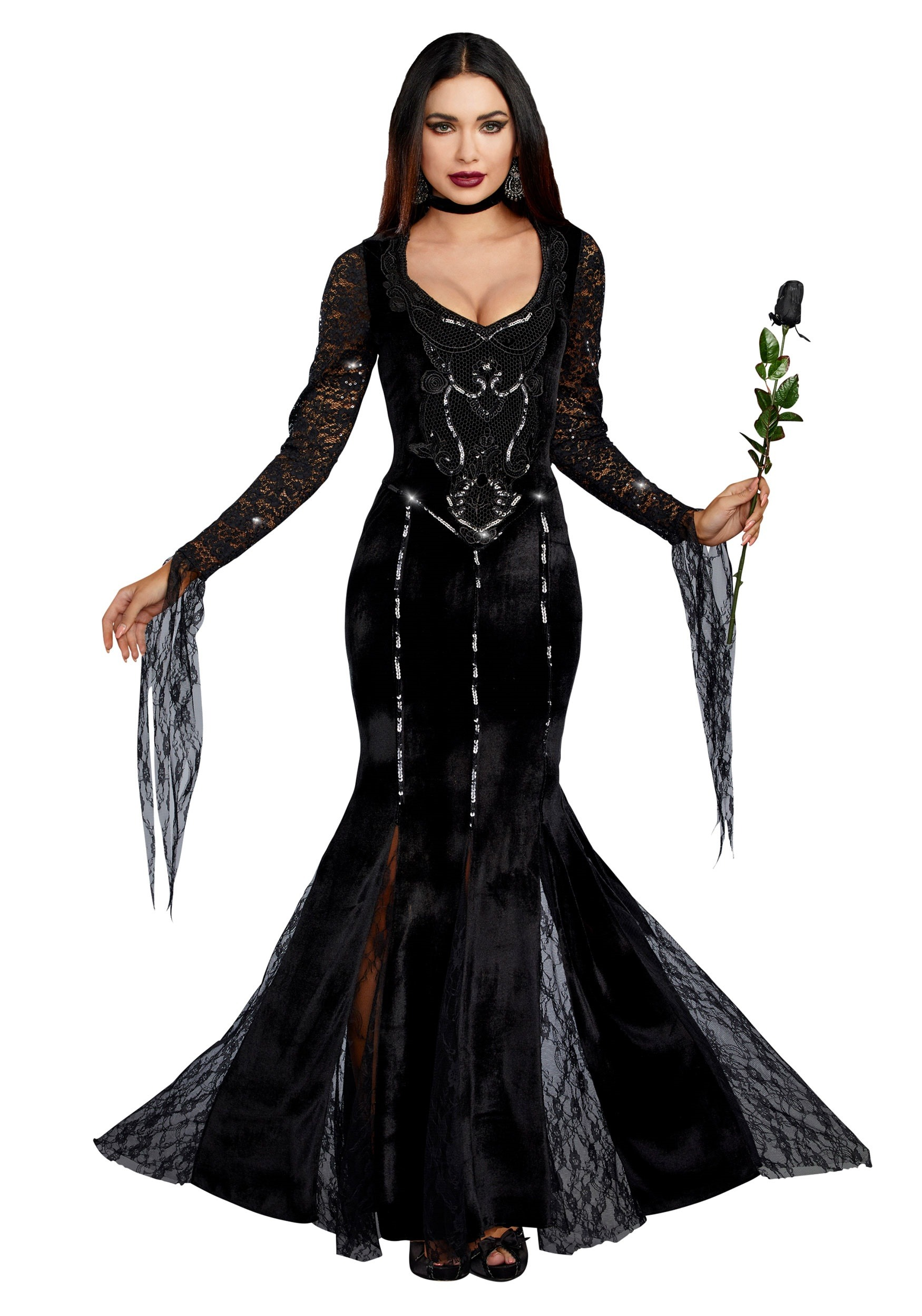 Mortuary Mama Costume for Women