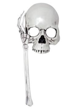 Adult Skull Mask on a Stick