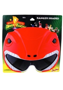 Adult Red Ranger Power Rangers Sunglasses