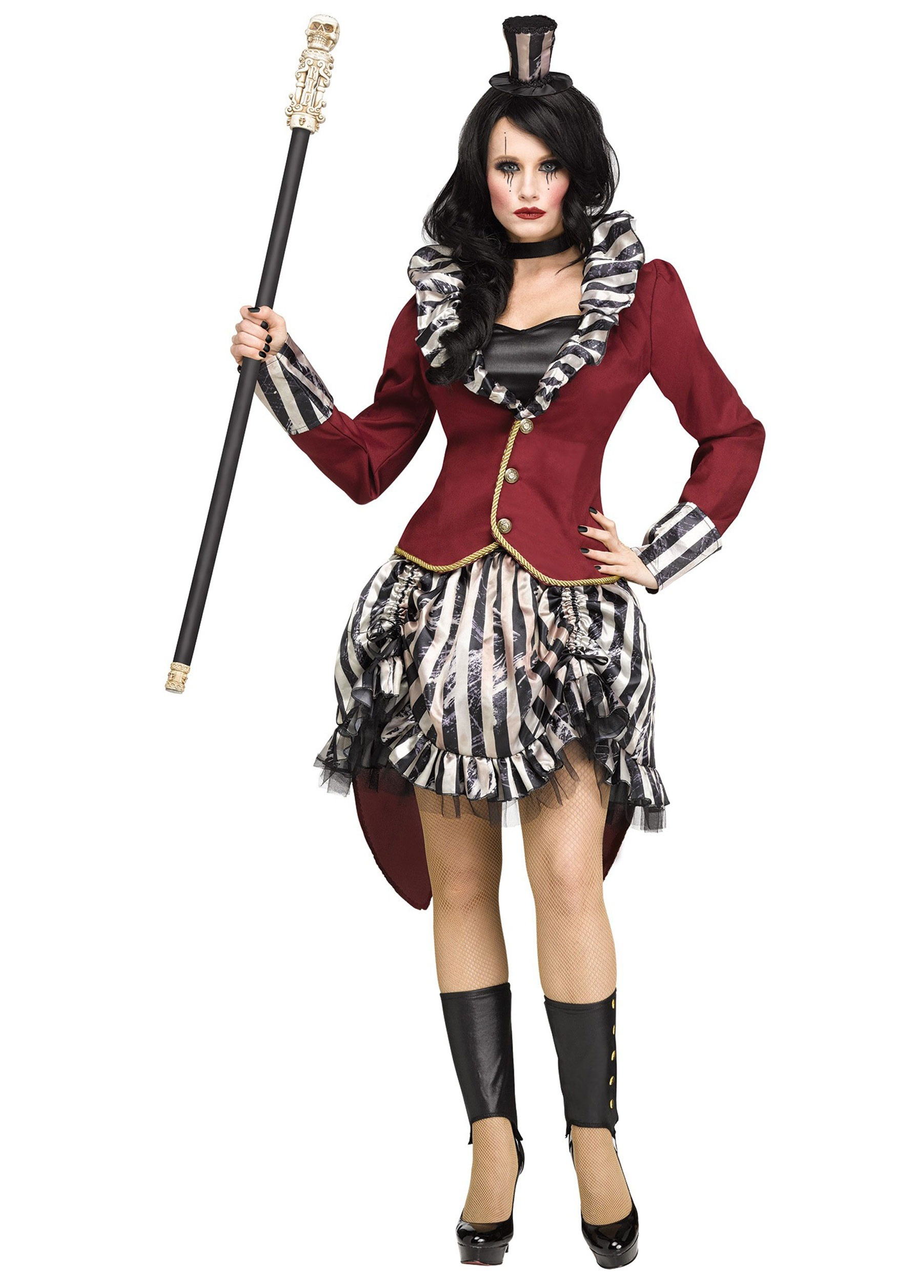 Womenu0027s Freak Show Ringmistress Costume  sc 1 st  Halloween Costumes UK & Circus Costumes For Adults u0026 Kids - HalloweenCostumes.com