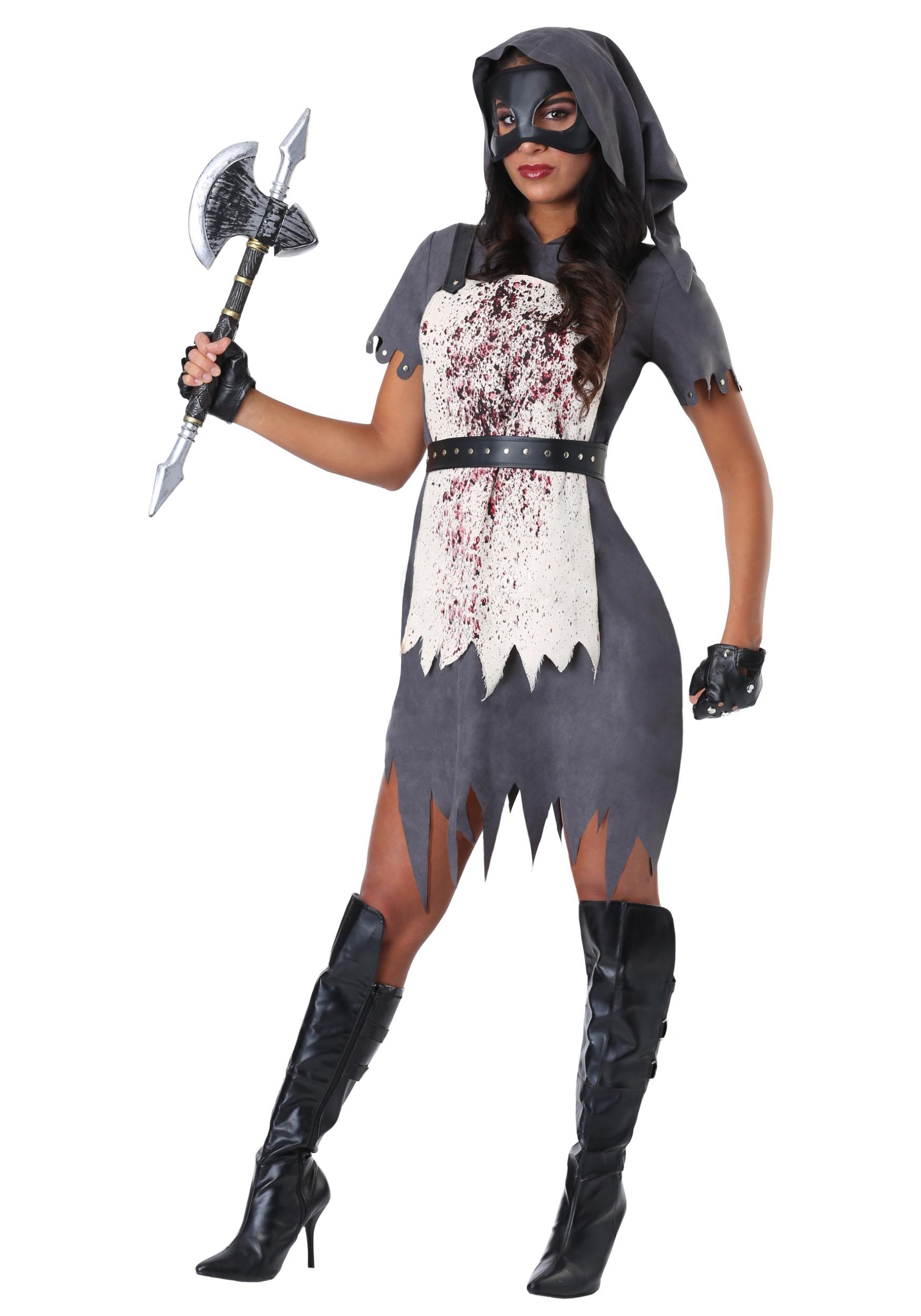 Evil Executioner Costume For Women
