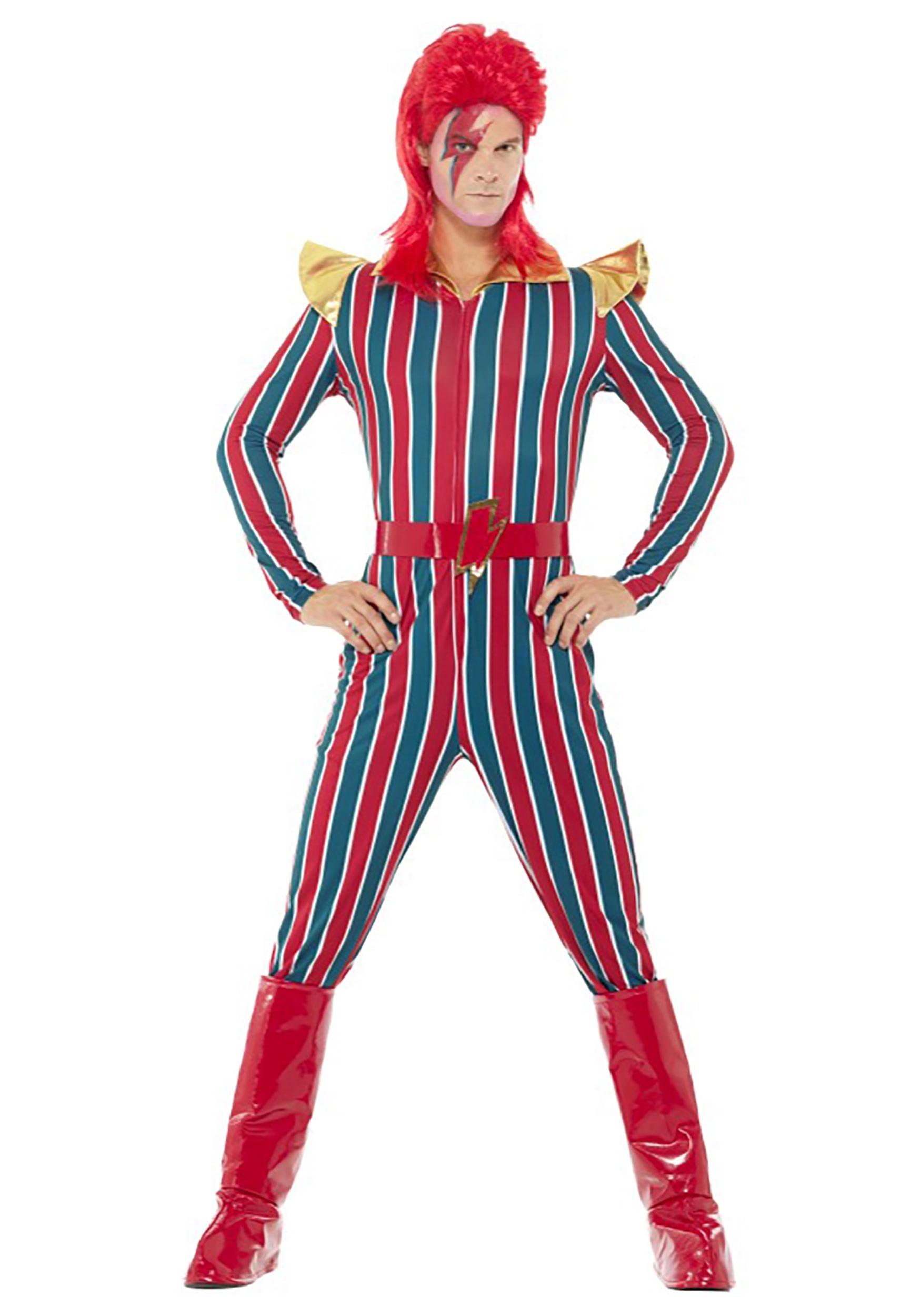 Menu0027s 80u0027s Space Superstar Costume  sc 1 st  Halloween Costumes UK & 80u0027s Costumes - Kids and Adults 80s Costumes