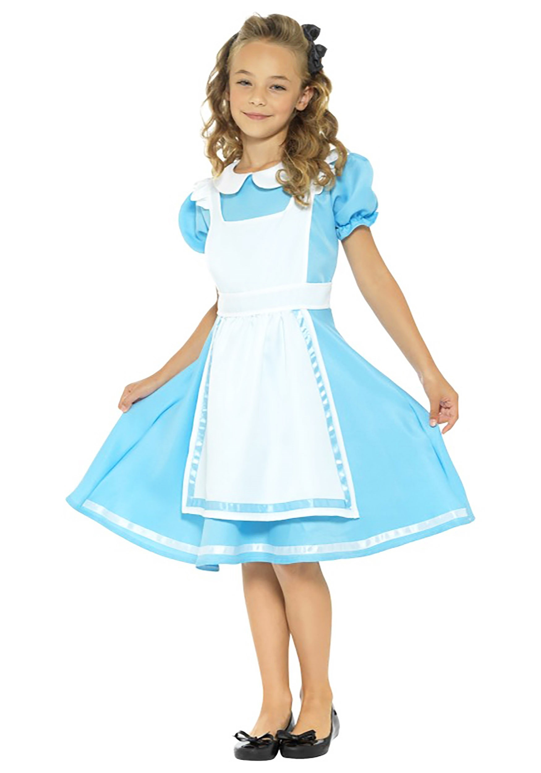 Girls Dreamland Alice Costume  sc 1 st  Halloween Costumes UK & Kids Alice in Wonderland Costumes Child - Halloween Costume Toddler ...