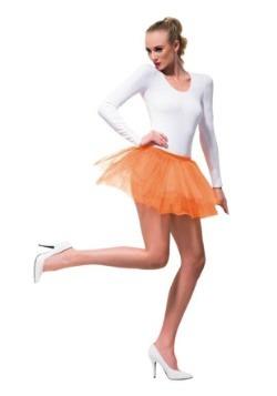 Women's Orange Tutu