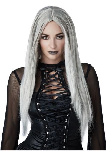 Gothic Grey Womens Wig