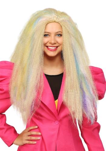Women's 80's Crimped Wig