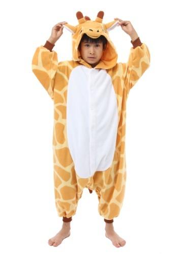 Child Giraffe Kigurumi