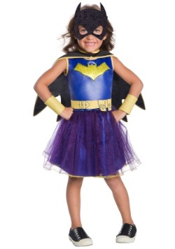 Deluxe Batgirl Toddler Girls Costume  sc 1 st  Halloween Costumes UK & Toddler Costumes