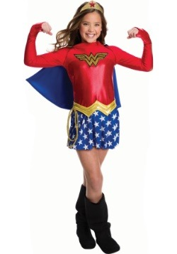 Girls Wonder Woman Costume  sc 1 st  Halloween Costumes UK & Wonder Woman Costumes - Adult Wonder Woman Costume