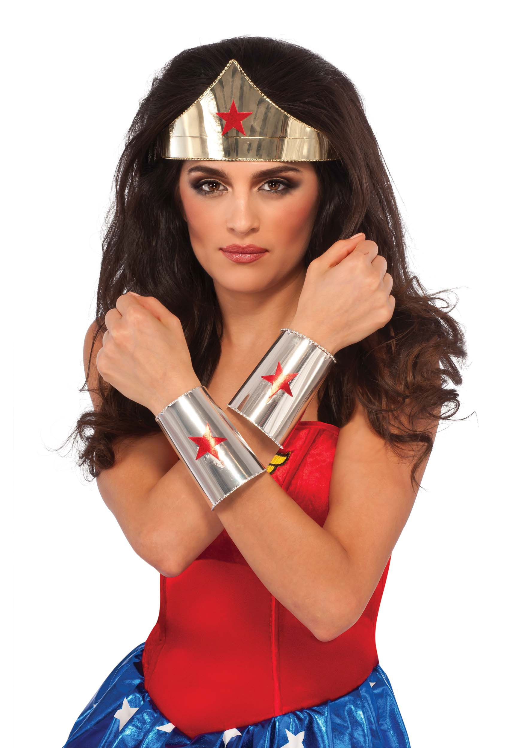 Deluxe Wonder Woman Costume Accessories-5765