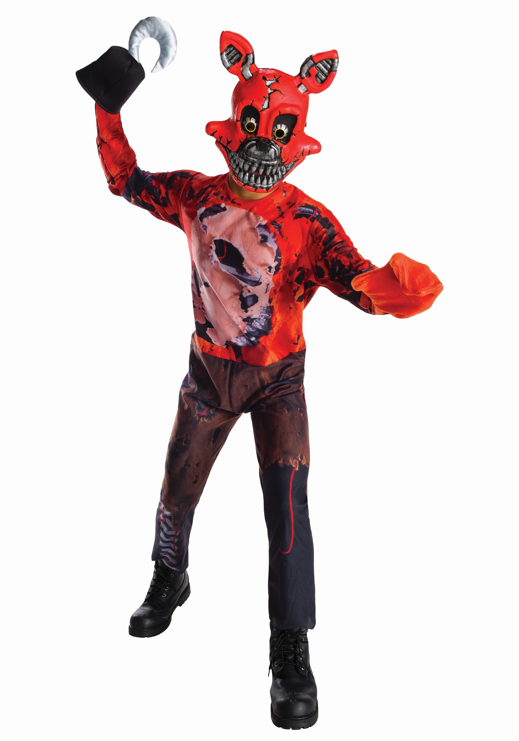 Dress up five nights at freedys - Five Nights At Freddy S Nightmare Foxy Boys Costume