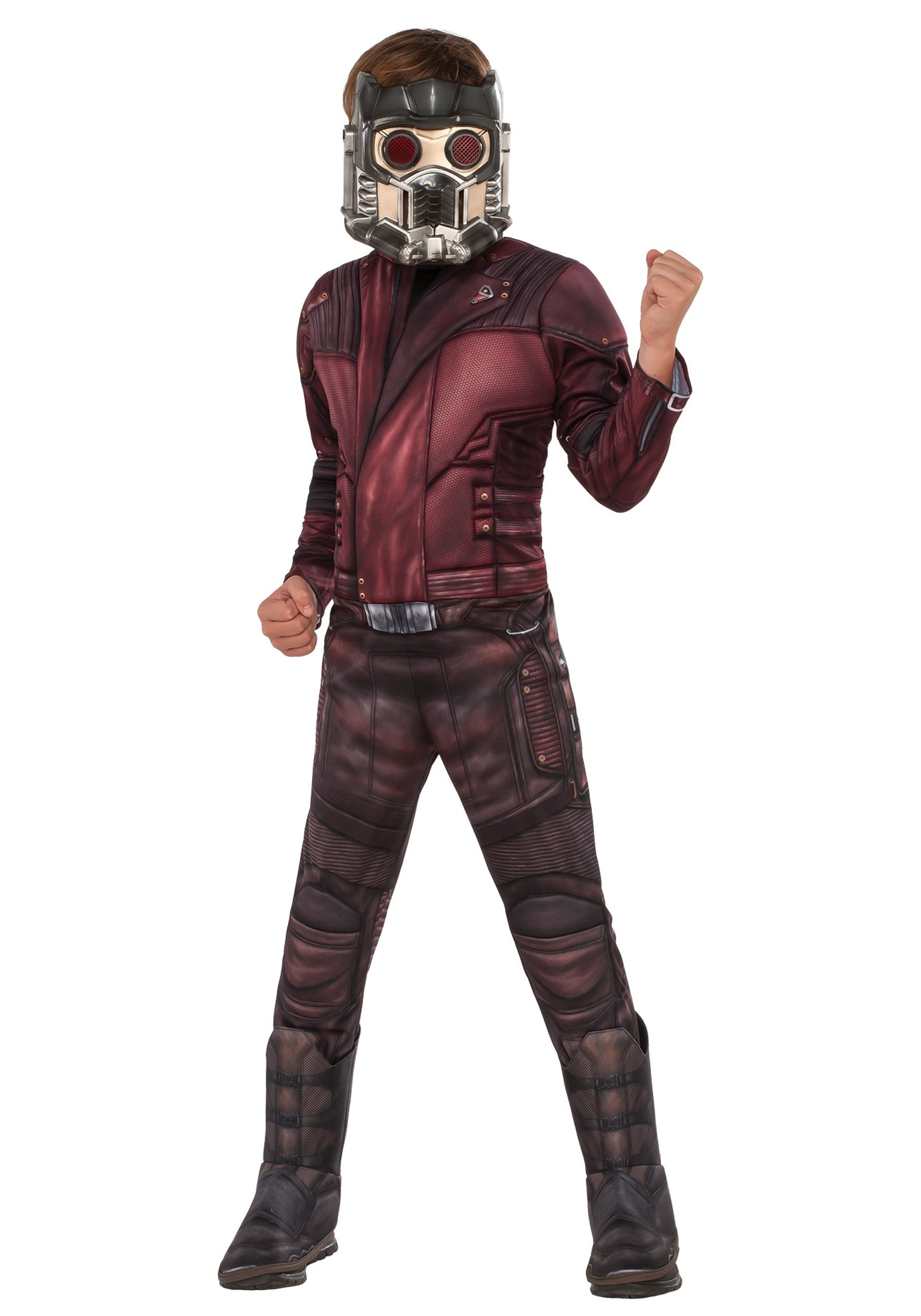 Star Lord Starlord ADULT Gloves Costume Accessory NEW Guardians of the Galaxy 2