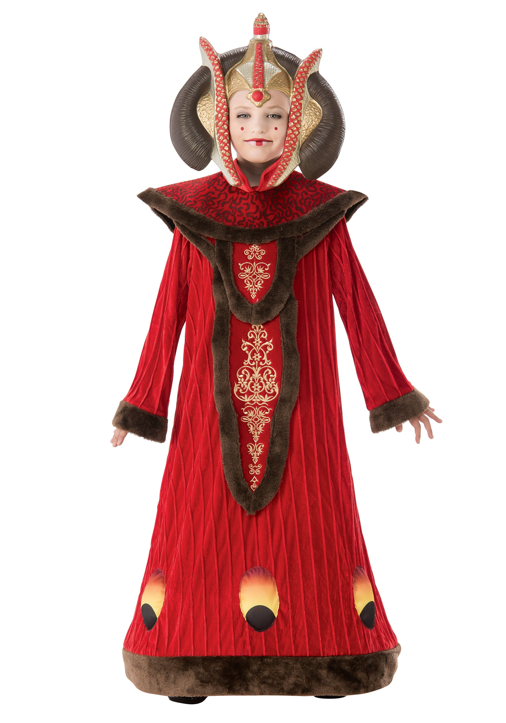 INOpets.com Anything for Pets Parents & Their Pets Star Wars Queen Amidala Fancy Dress Costume for Girls