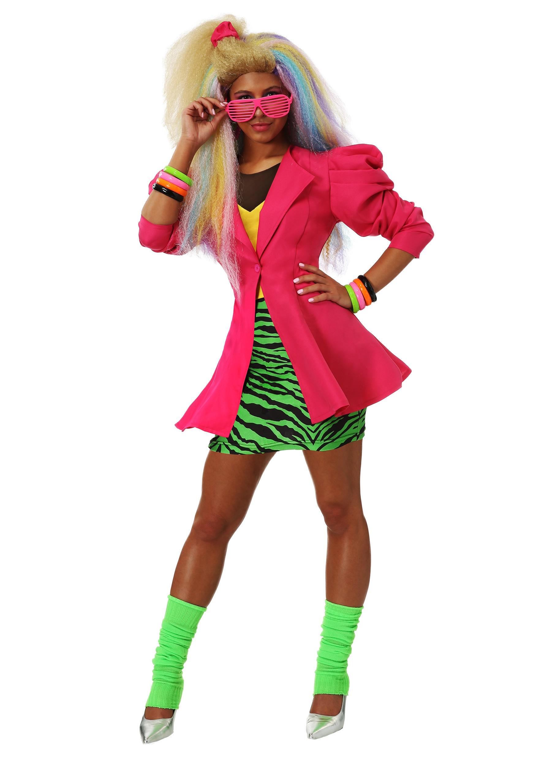 Plus Size 80 S Valley Girl Women S Costume