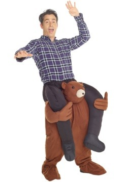 Bear Piggyback Adult Costume