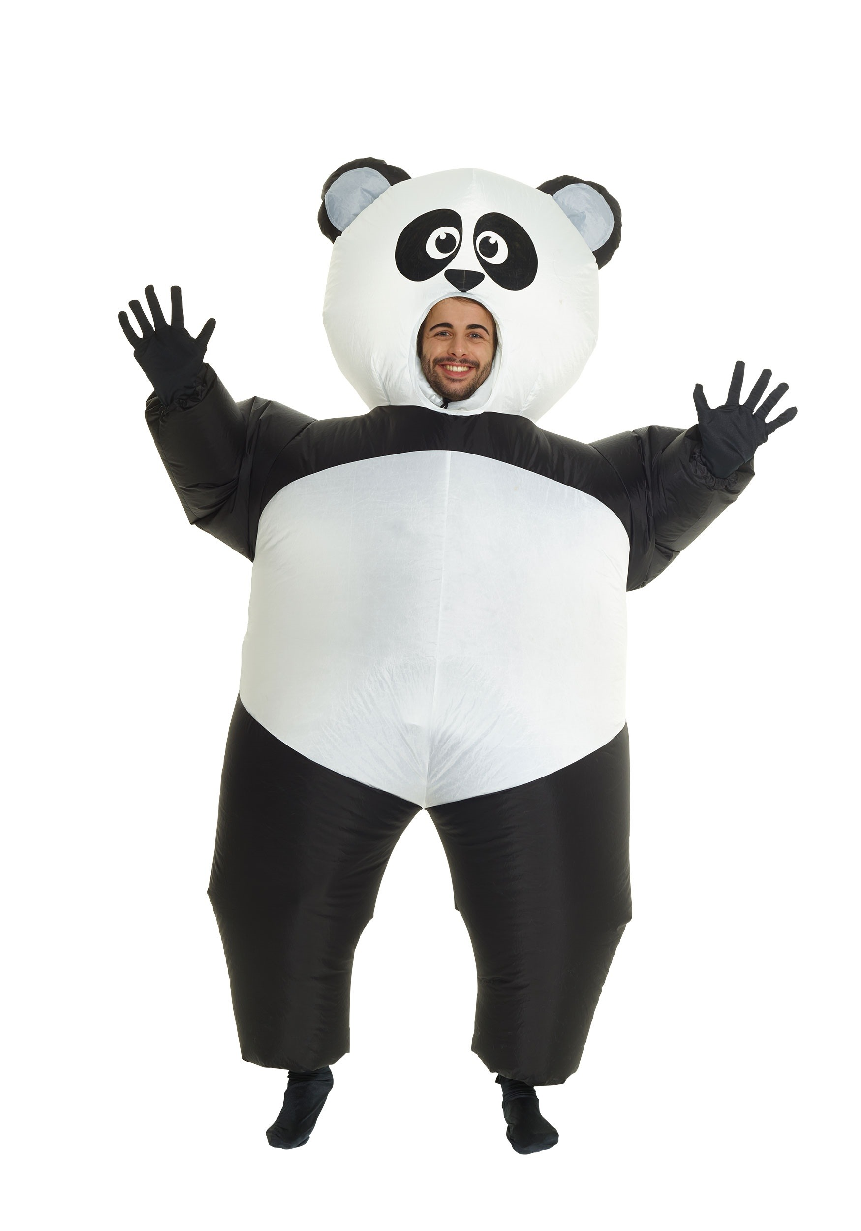 This adult Panda costume is a fun animal Halloween costume. Get this panda bear costume for a great price for your next event or for Halloween.