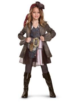 Captain Jack Sparrow Girls Deluxe Costume