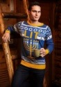 Hanukkah Menorah Holiday Sweater