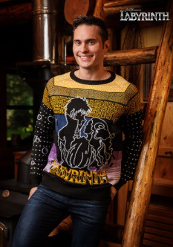 Labyrinth Movie Logo Sweater