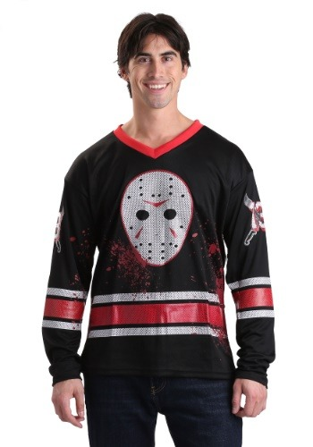 Jason Voorhees Adult Hockey Jersey