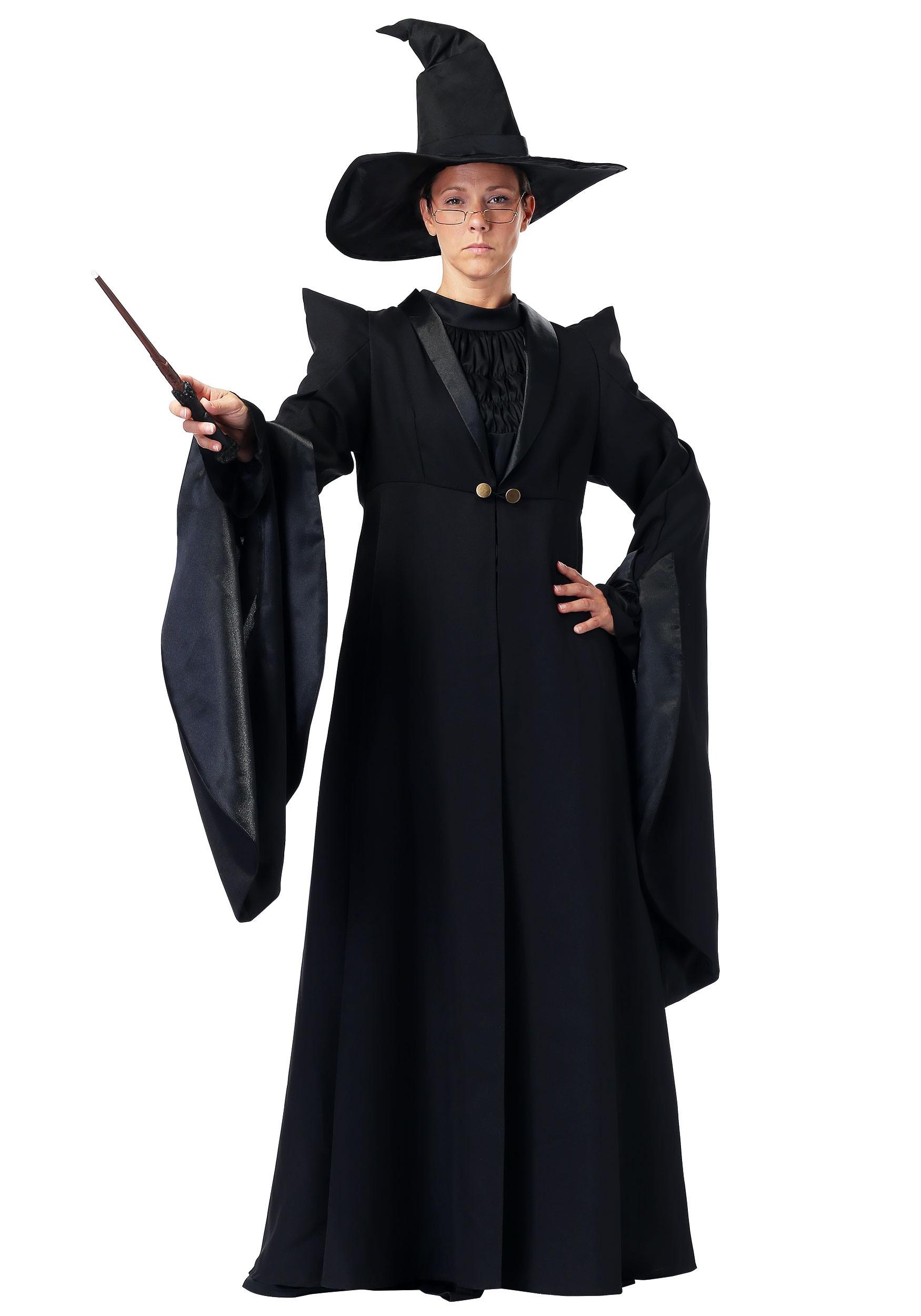 deluxe professor mcgonagall costume for women