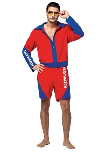 Adult Baywatch Men's Costume