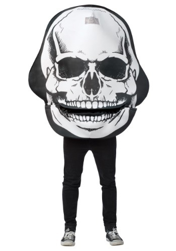 Skull Mouth Head Adult Costume