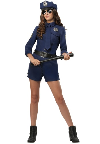 Police Officer Womens Costume