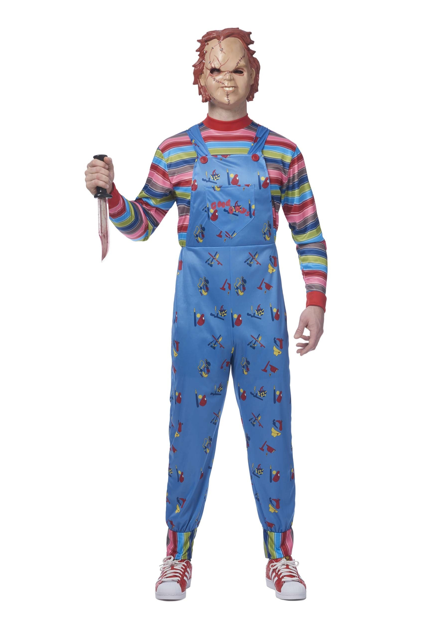 Chucky Plus Size Mens Costume  sc 1 st  Halloween Costumes UK & TV / Movie Costumes