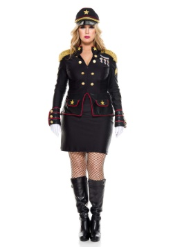 Women's Plus Size Military General Costume